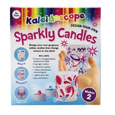 Kaleidoscope Design Your Own Candles Boxed Craft Kit