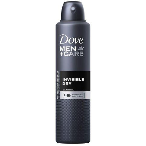 Dove Men's Antiperspirant Invisible Dry 250ml