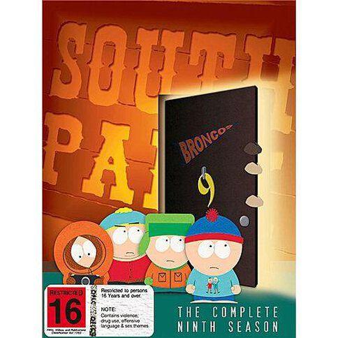 South Park Season 9 DVD 3Disc