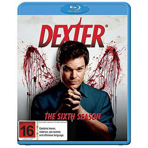 Dexter Season 6 Blu-ray 1Disc