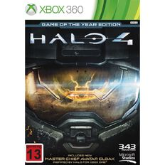 Xbox360 Halo 4 Game of the Year