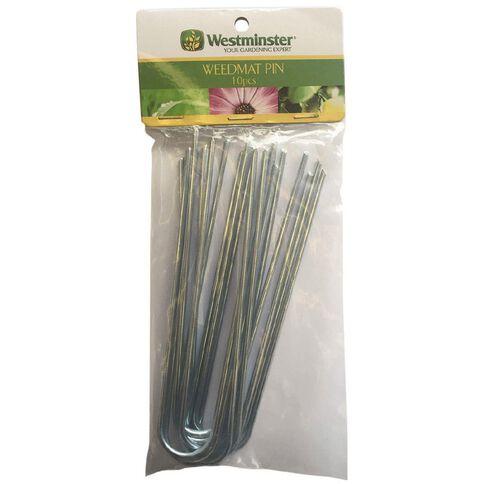 Westminster Weedmat Pins Hangsell 10 Piece