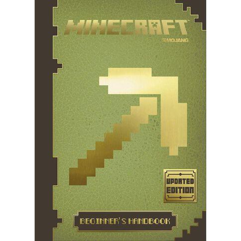 Minecraft Beginners Handbook (Updated Edition) by Mojang