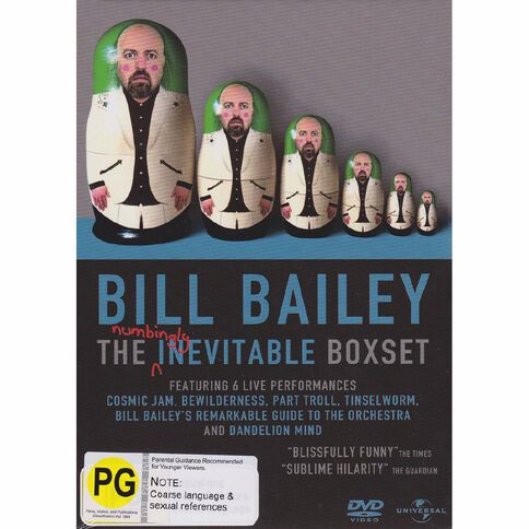 Billy Bailey Gift Set DVD 6Disc