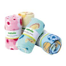 Babywise Polar Fleece Blanket Roll Assorted Colours