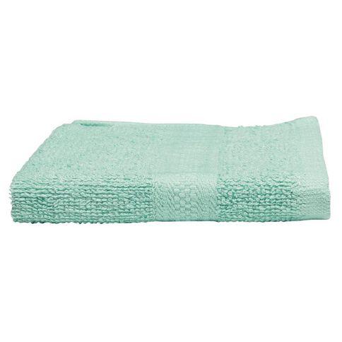 Necessities Brand Face Towel Spearmint