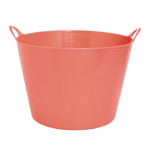 Taurus Flexi Tub Round Pink Light 40L