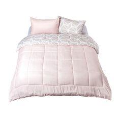Living & Co Comforter Set Aurora Grey