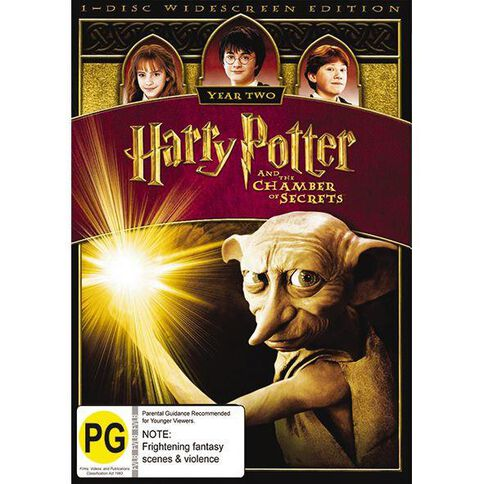 Harry Potter And The Chamber Of Secrets DVD 1Disc