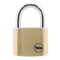 Yale 110 Series Padlock Brass 50mm