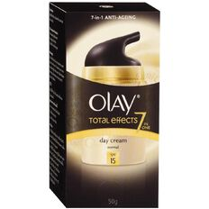 Olay Total Effects UV Moisturiser with SPF 15 50g