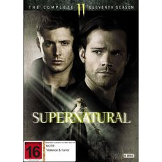 Supernatural Season 11 DVD 6Disc