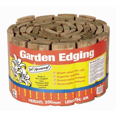 MLC Garden Edging 200mm x 4m Roll