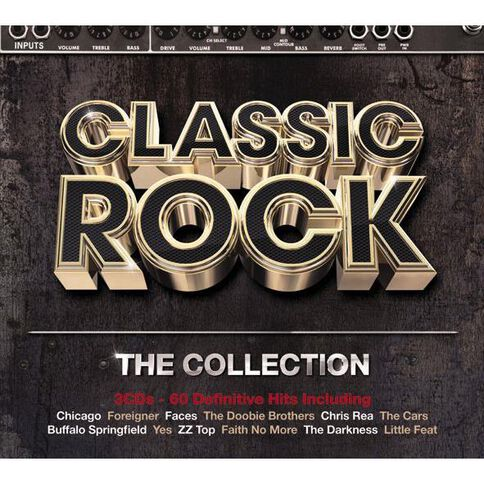 Classic Rock The Collection CD by Various Artists 3Disc