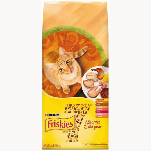 Friskies Seven Dry Cat Food 2.86kg