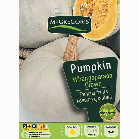 McGregor's Whangaparaoa Crown Pumpkin Vegetable Seeds