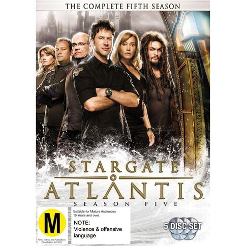 Stargate Atlantis Season 5 DVD 5Disc