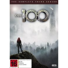 The 100 Season 3 DVD 4Disc