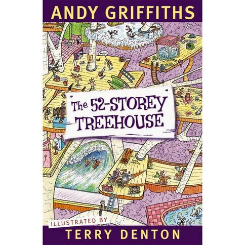 52 Storey Treehouse by Andy Griffiths & Terry Denton