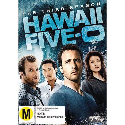 Hawaii Five-O Season 3 DVD 7Disc
