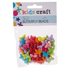 Kids' Art & Craft Butterfly Beads 30g