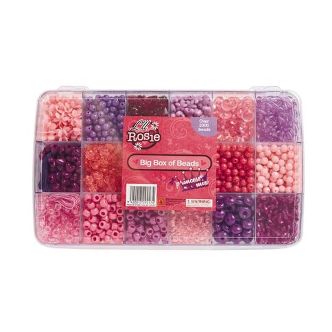 Lil Rosie Be-Jewelled Pony Bead Box Set Princess