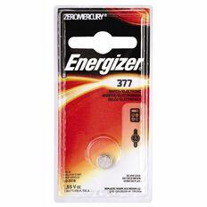 Energizer Silver Oxide Watch Battery - 377BP1 1.5 volt