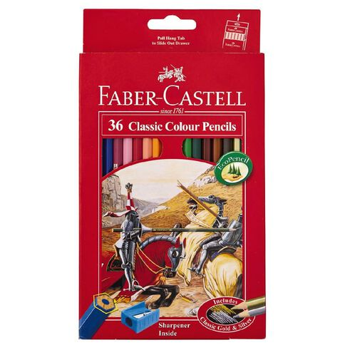 Faber-Castell Classic Colour Pencils 36 Pack