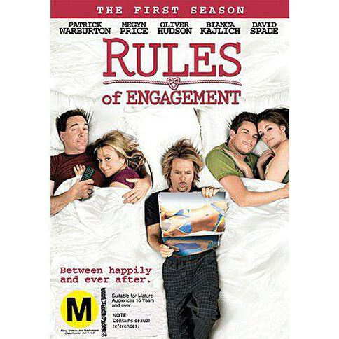 Rules Of Engagement Season 1 DVD 1Disc