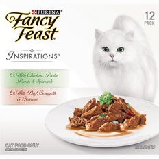 Fancy Feast Inspirations Chicken & Beef 12 Pack