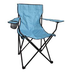 Necessities Brand Classic Camping Chair with Carry Bag Assorted Colours