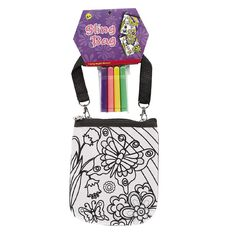 Colour Your Own Sling Bag Assorted