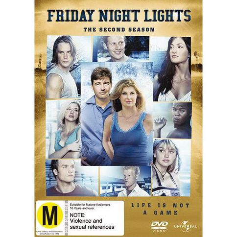 Friday Night Lights Season 2 DVD 4Disc