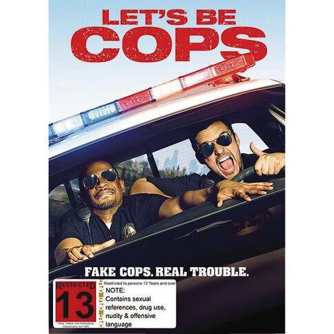 Let's Be Cops DVD 1Disc
