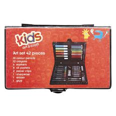 Kids' Art & Craft Art Set 42 Piece