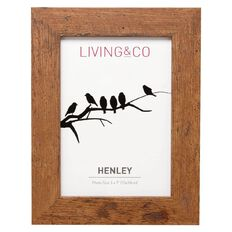 Living & Co Henley Collection Frame Rustic 8in x 10in