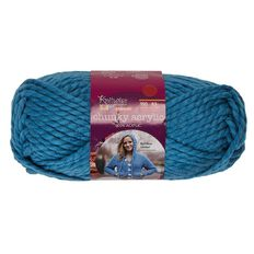 Knitwise Yarn Chunky Acrylic Blue Aster Fashion 150g