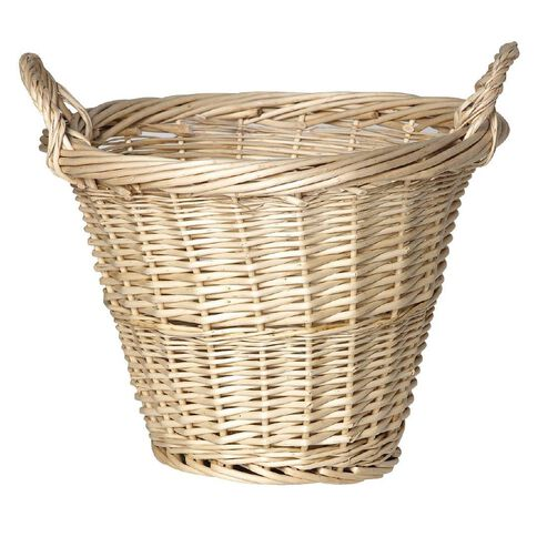 Living & Co Porter2 Willow Basket with Handles