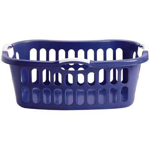 Taurus Hip Hugger Laundry Basket with Handles 44L Magenta