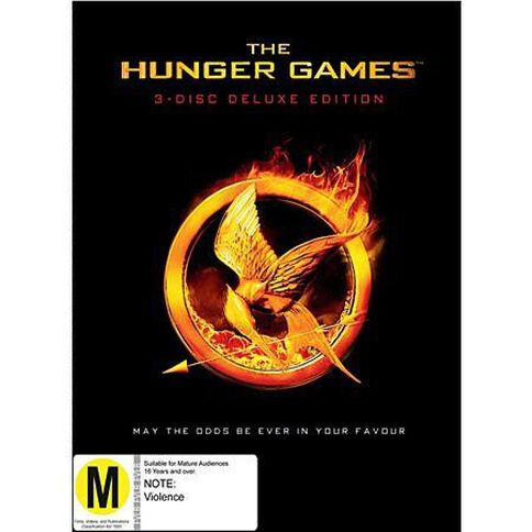 Hunger Games The Deluxe DVD 3Discs
