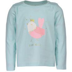 Basics Brand Toddler Girl Print Tee