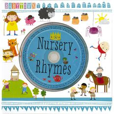 Baby Town Nursery Rhymes Book with CD