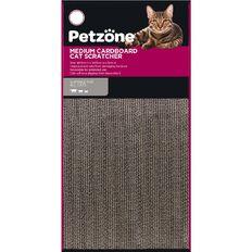 Petzone Cat Scratcher Cardboard Medium