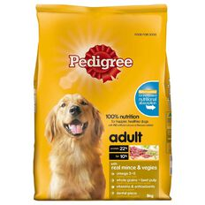 Pedigree Adult Complete Nutrition with Real Mince & Vegies 8kg