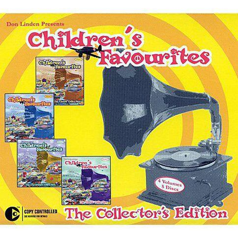 Childrens Box CD by Don Linden 4Disc