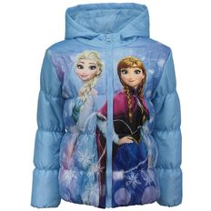 Frozen Girls' Puffer Jacket