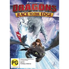 Dragons Race To The Edge DVD 2Disc