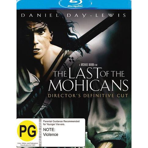 The Last Of The Mohicans Blu-ray 1Disc