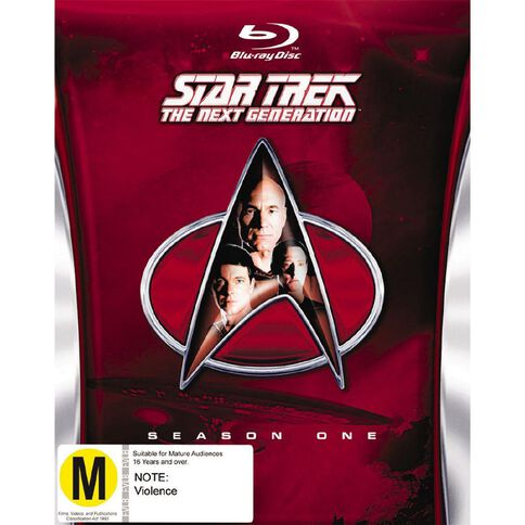 Star Trek The Next Generation Season 1 Blu-ray 6Disc