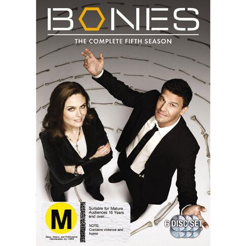 Bones Season 5 DVD 6Disc